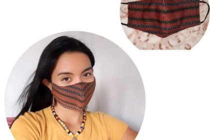 kalinga handwoven face mask