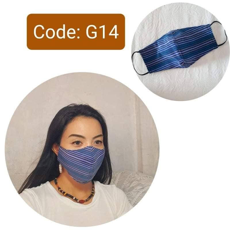 kalinga handwoven face masks